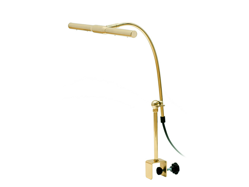 Vleugellamp-L5433 messing  hoogglans