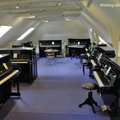 Afdeling silent piano's