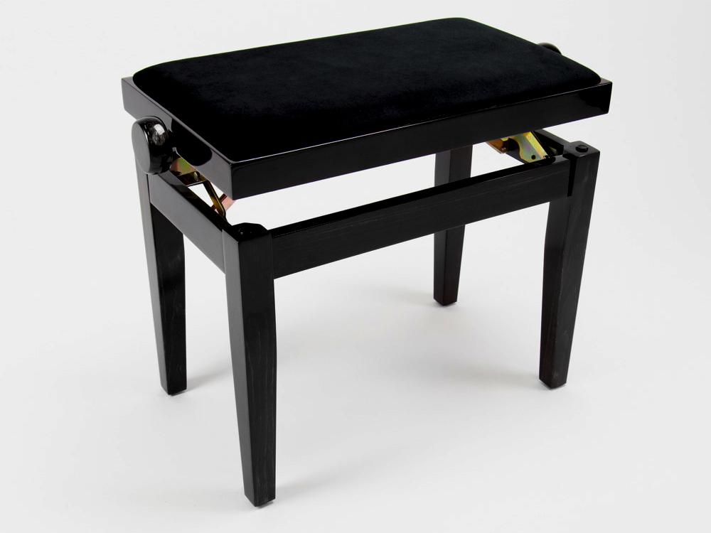 Model B zwart hoogglans skai