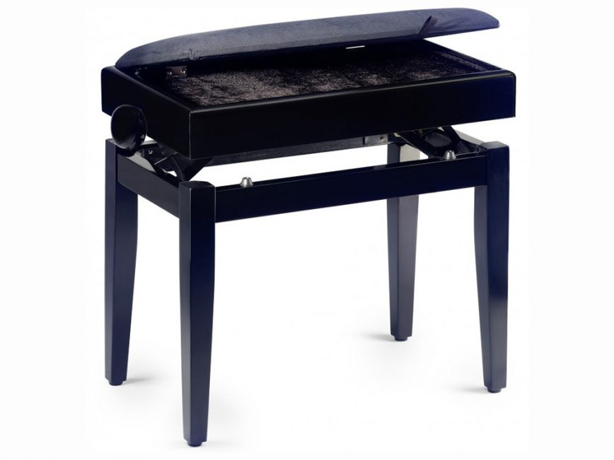 PB55 zwart mat skai muz berging